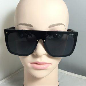 Quay Australia Jaded 150mm Flat Top Sunglasses